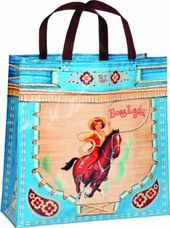 Shopper Tote - Boss Lady Blue