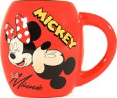 Disney - Mickey Mouse & Minnie - Oval Mug