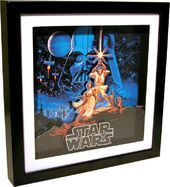 Star Wars - Classic Poster Shadow Box