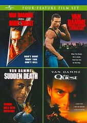 Van Damme Four-Feature Film Set (Hard Target /