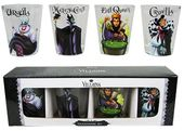 Disney - Villains - 4-Piece Clear Shot Glass Set