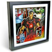 Marvel Comics - Iron Man and Avengers - Shadow Box