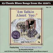 Classic Blues Artwork From the 1920s Calendar 2016