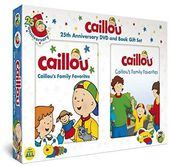 Caillou - Caillou's Family Favorites (With Book)