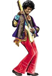 Jimi Hendrix - Greeting Card