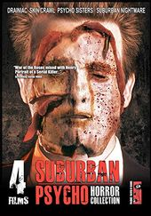 Suburban Psycho: 4 Film Horror Collection (3-DVD)