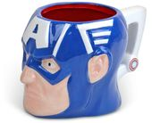Marvel Commics - Captain America - Face 3D Mug