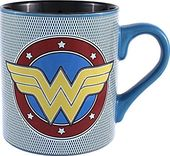 DC Comics - Wonder Woman - Logo Mesh 14oz Ceramic