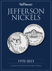 Jefferson Nickels 1970-2015 Collector's Folder