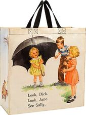 Shopper Tote - Dick & Jane Umbrella