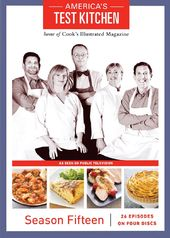 America's Test Kitchen - Season 15 (4-DVD)