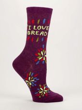 Socks - I Love Bread