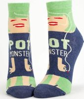 Pot Monster Socks