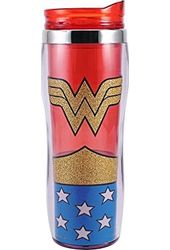 DC Comics - Wonder Woman - Uniform Glitter 16oz