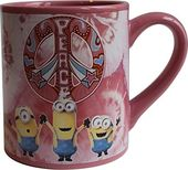 Depicable Me - Minion Peace 14oz Ceramic Mug