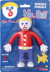 "Mr. Bill - 5"" Bendable Figure in Blister Card"