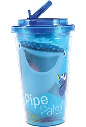 Disney - Finding Dory - Pipe Pals 16oz Plastic