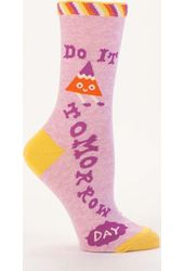 Do It Tomorrow Women's Socks