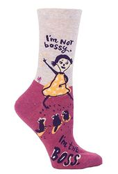 I'm Not Bossy Socks