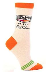 Ringmaster Of The Shit Show Socks