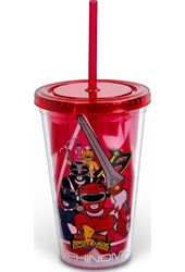 Power Rangers - Weaponized 16oz Plastic Cold Cup