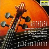 Beethoven: String Quartets Op. 59 No. 2 & No. 3