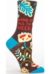 Dang It All To Heck - Women's Crew Socks