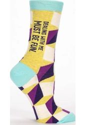 Dealing With Me - Women's Crew Socks