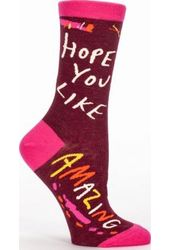 Hope You Like Amazing - Women's Crew Socks