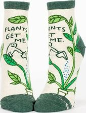 Plants Get Me - Women's Ankle Socks