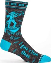I Gave A Fuck. Once. - Men's Crew Socks