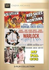Richard Widmark Set (Red Skies of Montana /