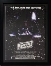 Star Wars - Episode 5 Movie Poster Framed Under