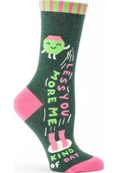 Less You More Me - Women's Crew Socks