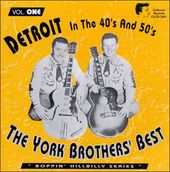 Detroit in the 40's and 50's, Volume 1