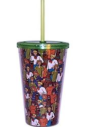 Scooby Doo - Character Collage 16oz Plastic Cold