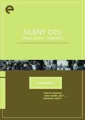 Silent Ozu: Three Family Comedies (3-DVD)