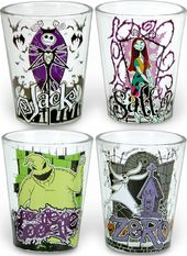 Nightmare Before Christmas - 4 pc. Clear Shot