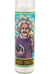 Albert Einstein - Secular Saint Candle