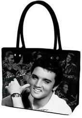 Elvis Presley - Black & White Photographs - Tote