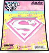 DC Comics - Supergirl - Pink Logo - Decal
