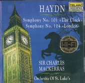 "Haydn: Symphonies No. 101 ""The Clock"" & No. 104"