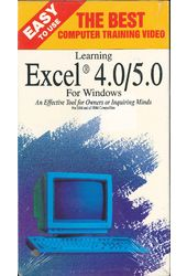 Learning Excel 4.0/5.0 for Windows