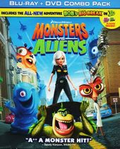 Monsters vs. Aliens (Blu-ray + DVD)