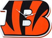 Football - Cincinnati Bengals - 3D Foam Wall Clock