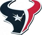 Football - Houston Texans - 3D Foam Wall Clock