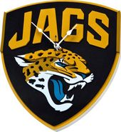 Football - Jacksonville Jaguars - 3D Foam Wall