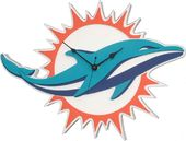 NFL - Miami Dolphins - 3D Foam Wall Clock