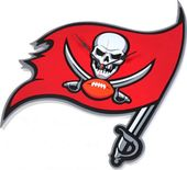 Football - Tampa Bay Buccaneers - 3D Foam Wall