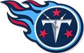Football - Tennessee Titans - 3D Foam Wall Clock